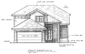 FM Home Builders House Plan 4